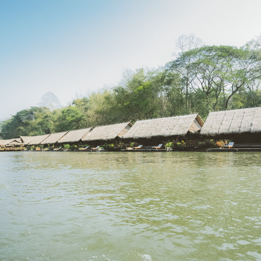 River Kwai Jungle Rafts ဟိုတယ်