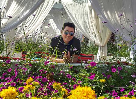 ဒူဘိုင်းက Dubai Miracle Garden ဥယျာဉ်