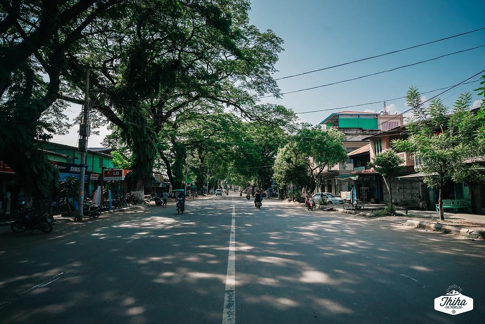 The Main Road called Bogyoke Road