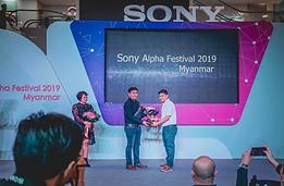 Thiha the Traveller as Sony Brand Endorser