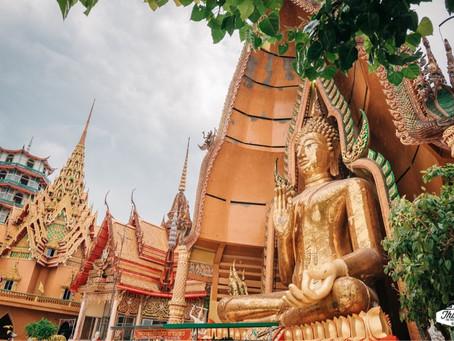 Wat Tham Sua (Tiger Cave Temple) ကျားကျောင်း