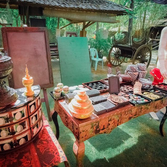 Bagan House က ဖန်တီးထုတ်လုပ်ထားတဲ့ ခေတ်မီ ယွန်းထည်အနုပညာမျိုးစုံ