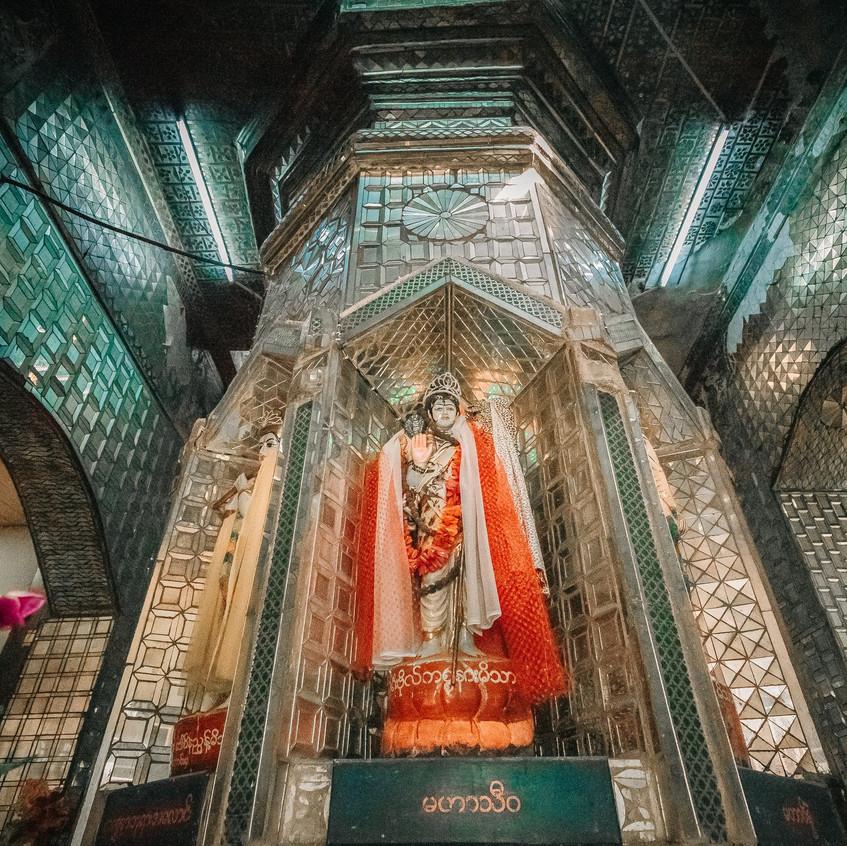 The First Yay San Kynn Pagoda