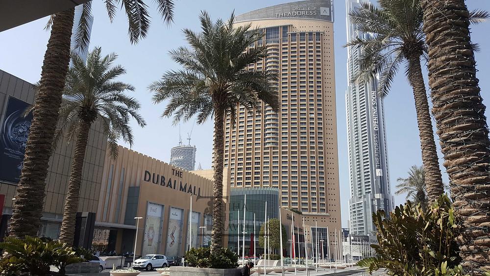 The Dubai Mall ကို ျမင္ရပံု