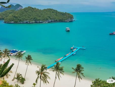 စမွီကျွန်း က Ang Thong National Marine Park