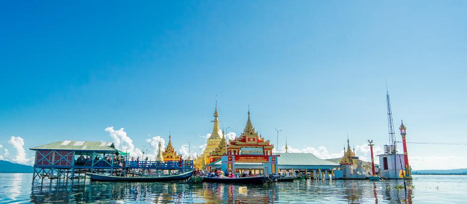 Indawgyi Lake and Shwe Myintzu Ye Lae Pagoda