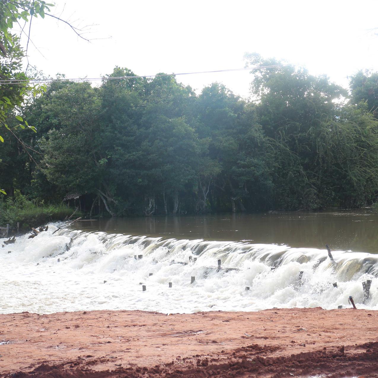 Htiseekha, a natural waterfall