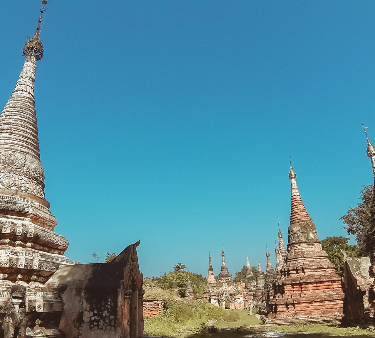 Some Ancient Pagodas