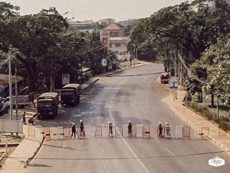 Some Myanmar Police have run away to India's Mizoram