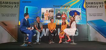 Thiha the Traveller at Samsung Talkshow