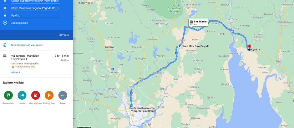 လုပ်ဆောင်ချက်အသစ်တွေပါဝင်တဲ့ Google Maps အဆင့်မြှင့်တင်မှုကို Google ထုတ်ဖော်