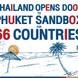 မြန်မာ အပါအဝင် ၆၆ နိုင်ငံ ကို ဖူးခက်ကမ်းခြေ ကို လာလည်ခွင့်ပြုမယ့် Phuket Sandbox အစီအစဉ် စတင်
