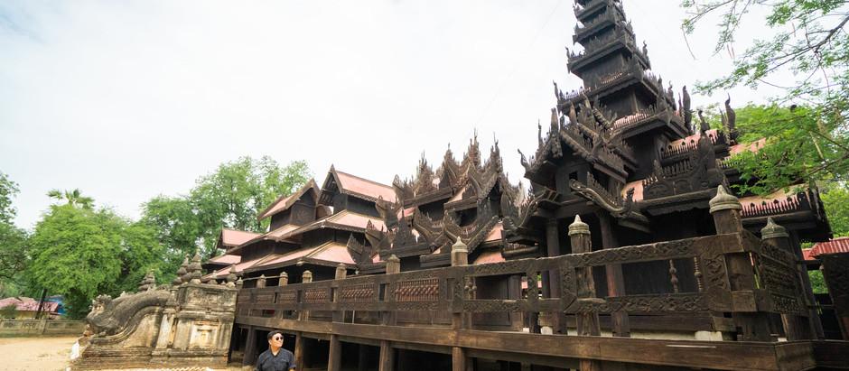 Salay Yoke Sone Monastery with Variety of Fascinating Woodcarvings
