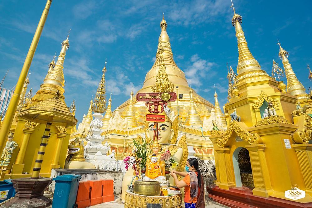 Shwe Dagon Pagoda ရွှေတိဂုံစေတီတော်