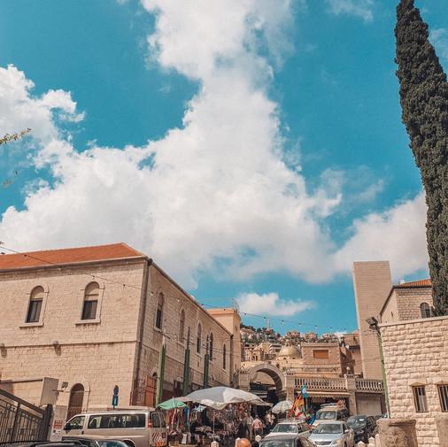 Nazareth ဝန်းကျင်မှာ