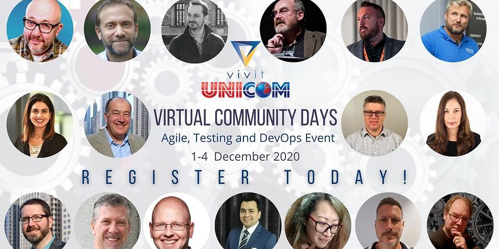 "Virtual Community Days: ""Agile, DevOps and Testing"""