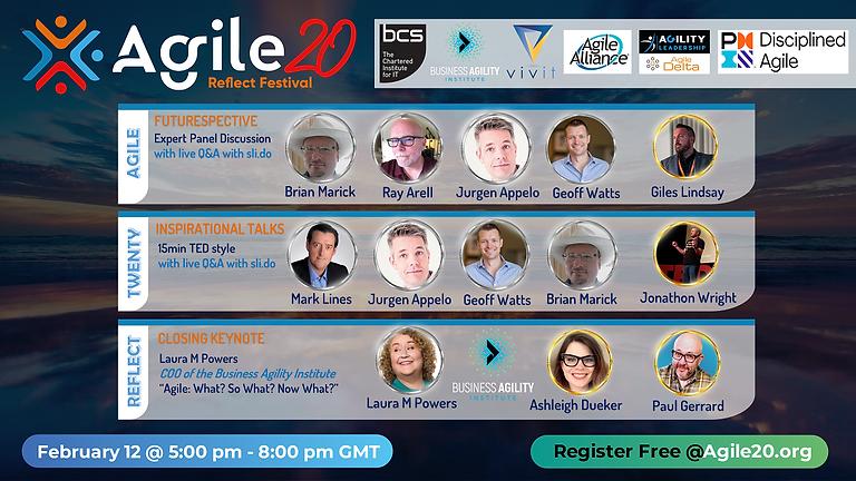 Global Agile20Reflect Festival Event - An Agile Manifesto Futurespective