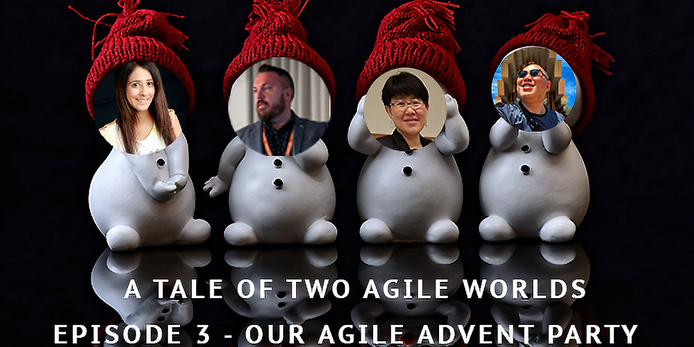 Come join us at our Agile Advent Party, solutions to agile resistance!