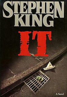 It, Pennywise, clown, movie, Stephen King, horror books, horror literature, books, reading