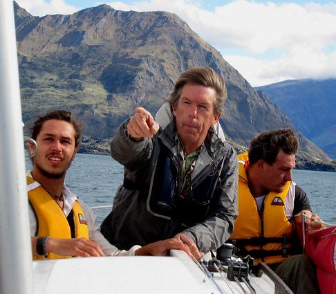 Sailing Lake Wanaka