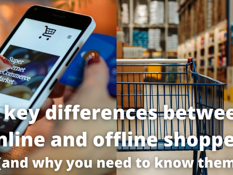 5 key differences between online and offline shoppers
