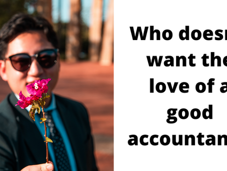 Who doesn't want the love of a good accountant?