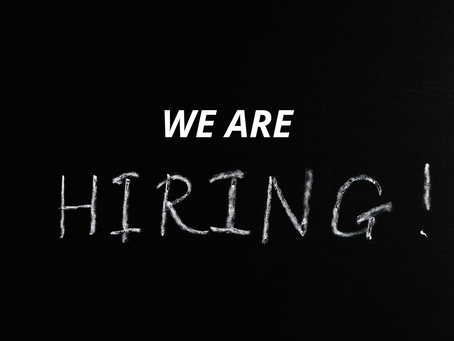 We are HIRING! (Updated post)