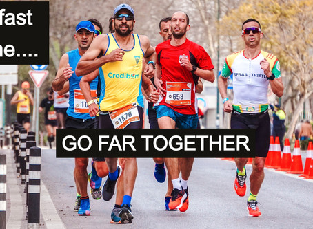 """Go fast alone – go far together"" - an industry's call to arms"