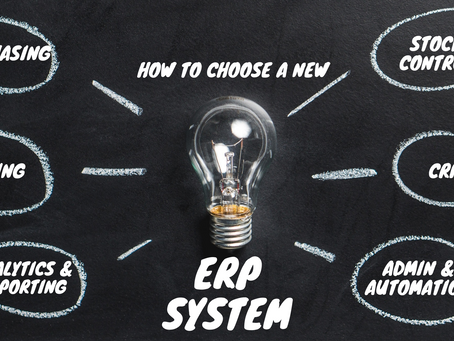 How to choose a new ERP system