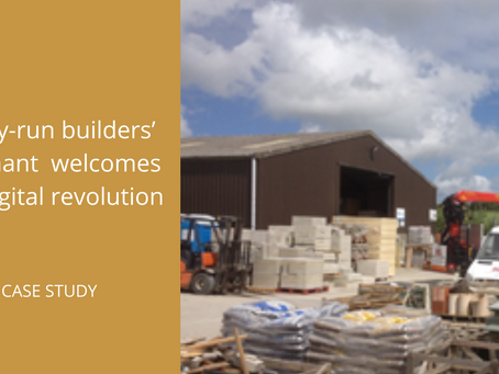 Family-run builders' merchant Build Supplies welcomes the digital revolution