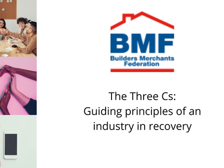 3Cs - the guiding principles of an industry in recovery