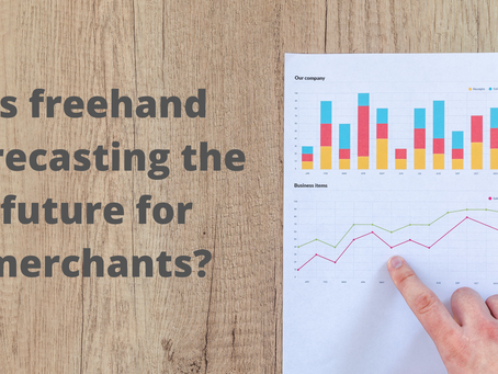 Is freehand forecasting the future for merchants?