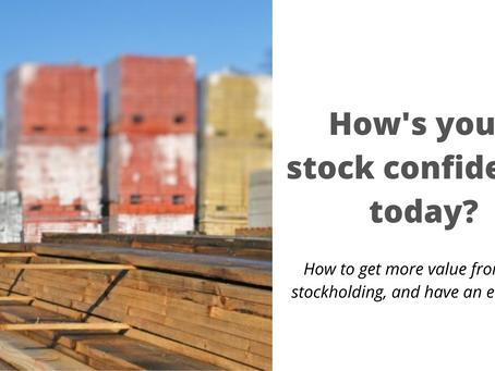 How's your stock confidence today?