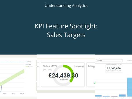 KPI Feature Spotlight: Sales Targets