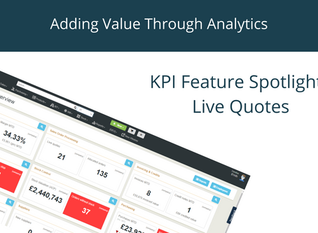KPI Feature Spotlight: Live Quotes