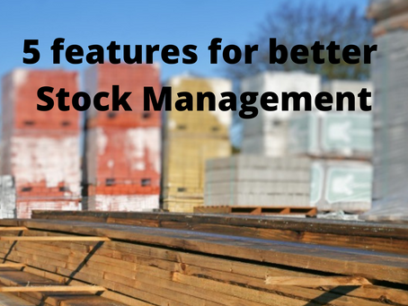 5 features for better stock management
