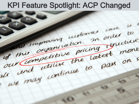 KPI Feature Spotlight: Average Cost Price Changed