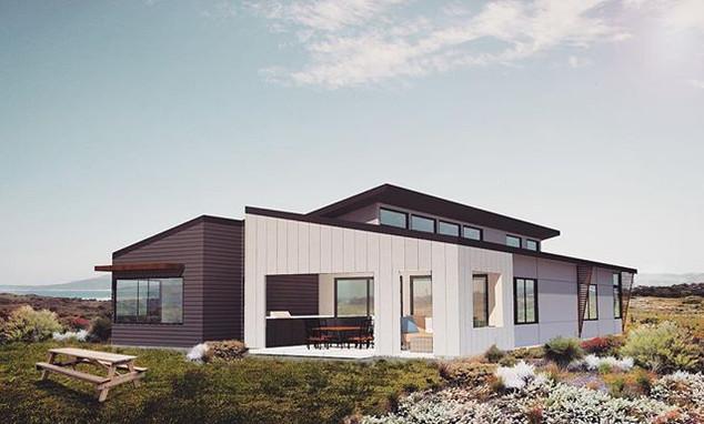 Parry's Beach Breaks Villa 1 - under construction
