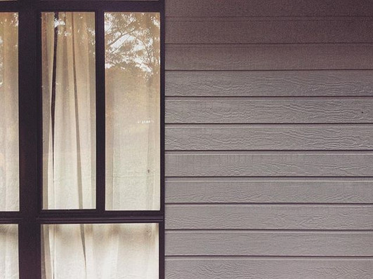 Farmhouse Exterior - new paint and window!