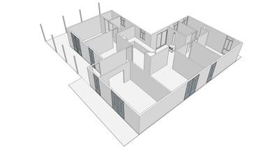 Farmhouse 3D Original Layout