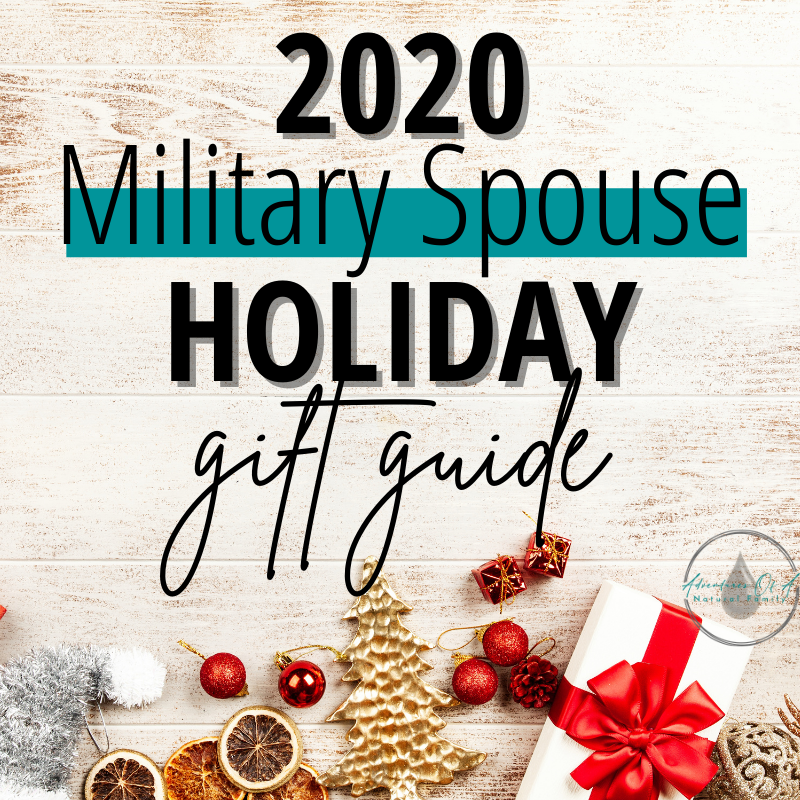 2020 Military Spouse Holiday Gift Guide
