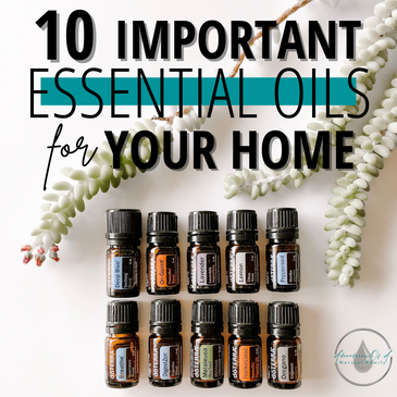 10 Most Important Essential Oils For Your Home