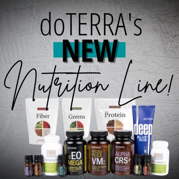 doTERRA's New Nutrition Line