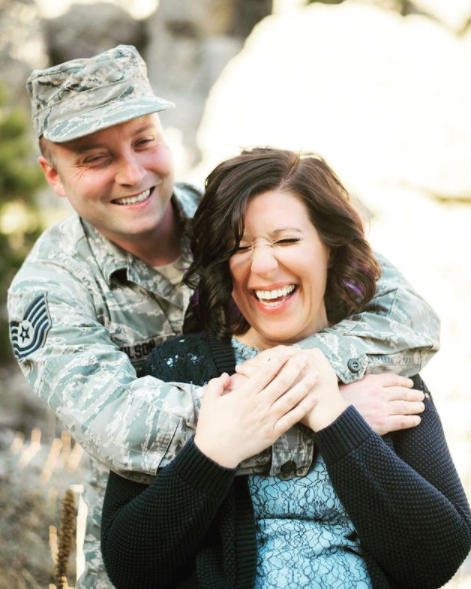 deployment homecoming couple