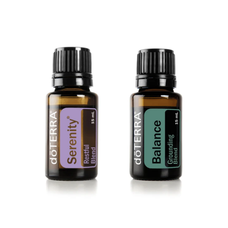 doterra's serenity blend and balace blend