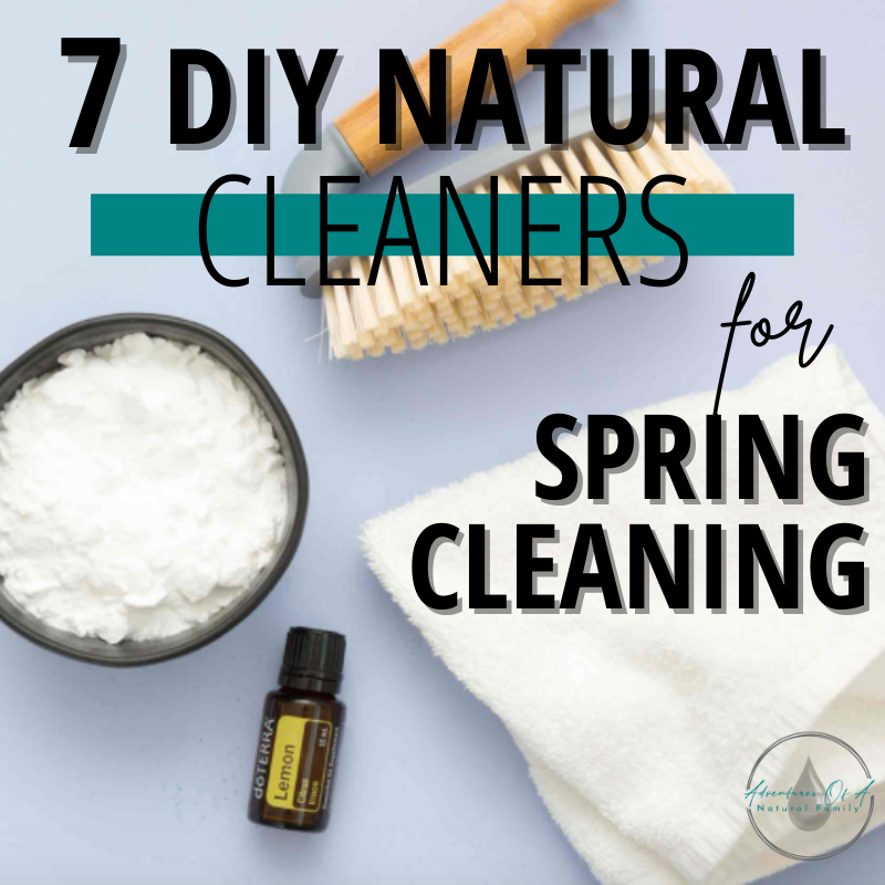 7 DIY Natural Cleaners For Spring Cleaning