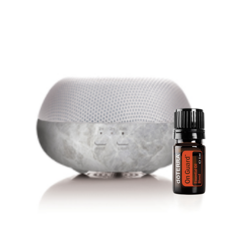 doterra diffuser with on guard essential oil