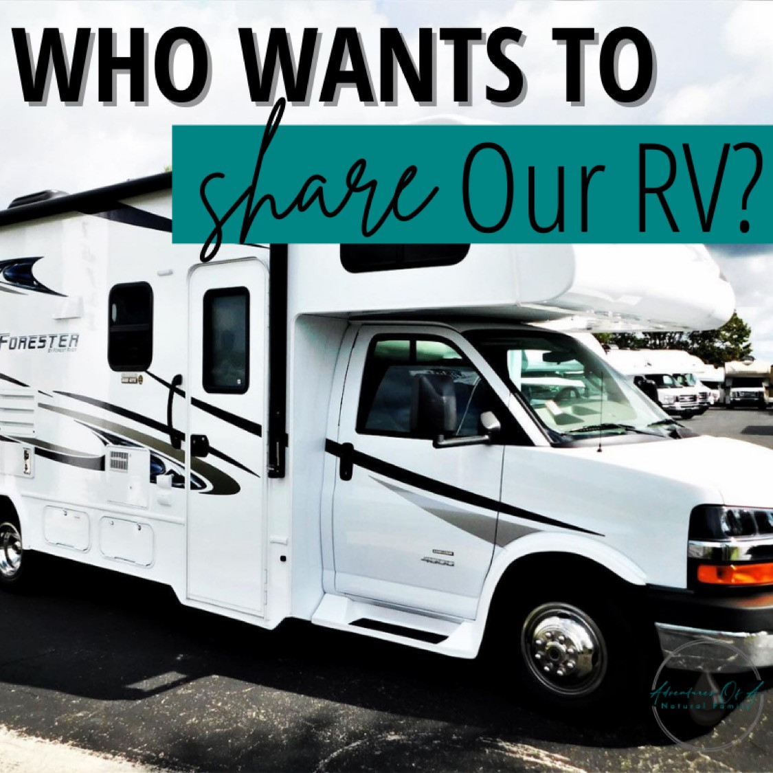 Who Wants To Share Our RV?!!