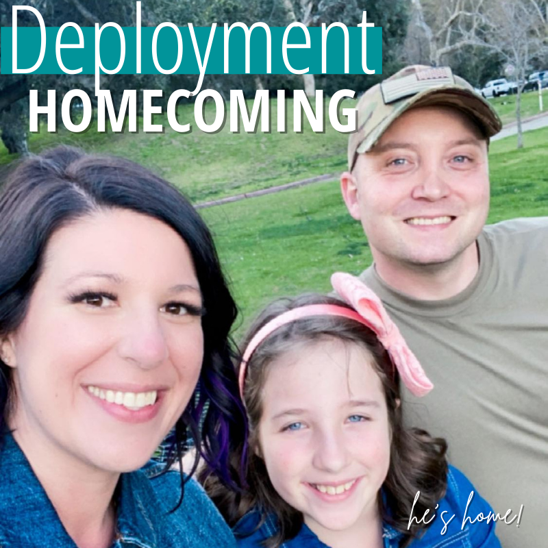 Deployment Homecoming: Military Spouses...This One is For You.