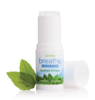 doterra's breathe vapor stick